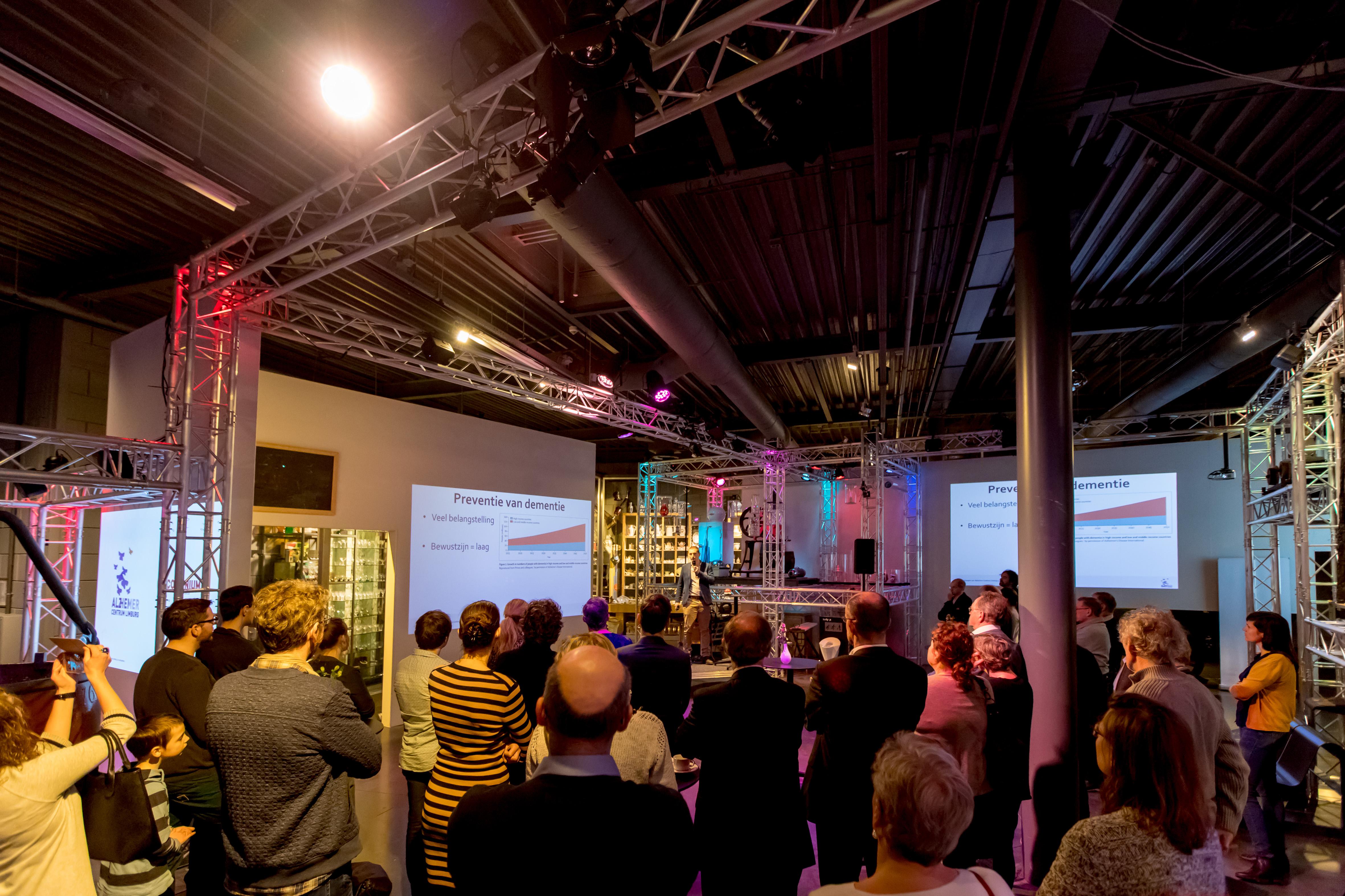 Presentatie Continium Discovery Center, Kerkrade