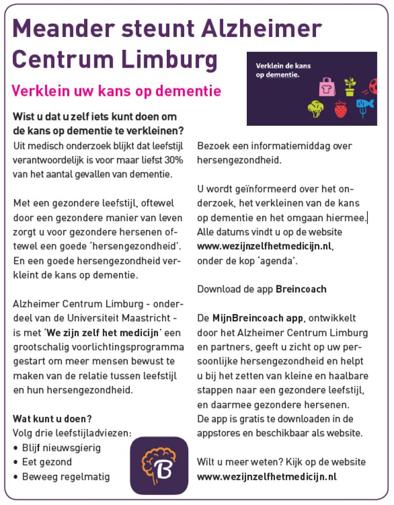 Bericht van Meander over de campagne
